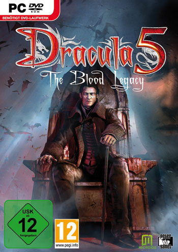 Dracula 5: The Blood Legacy Cover