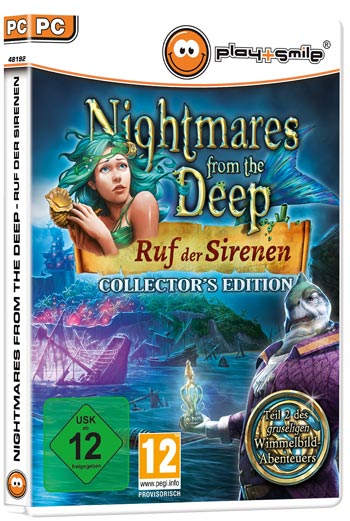 Nightmares from the Deep: Ruf der Sirenen Cover