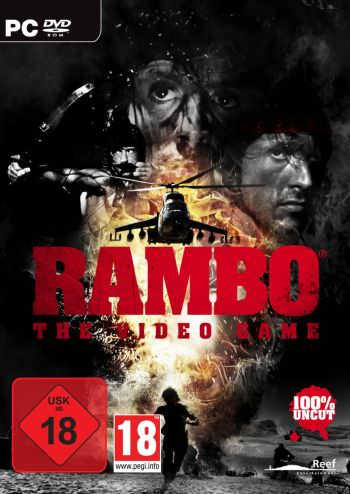Rambo - The Video Game Cover