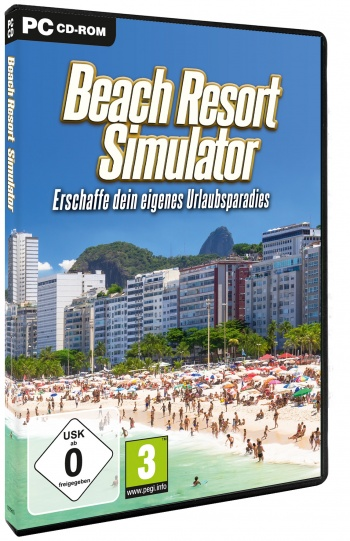 Beach Resort Simulator Cover