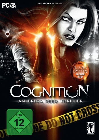 Cognition - An Erica Reed Thriller Cover