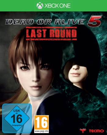Dead or Alive 5 Last Round Cover