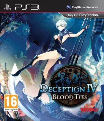 Deception IV: Blood Ties Cover