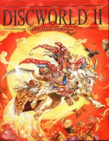 Discworld 2 Cover