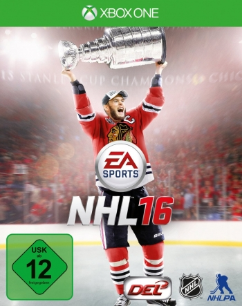 EA Sports NHL 16 Cover