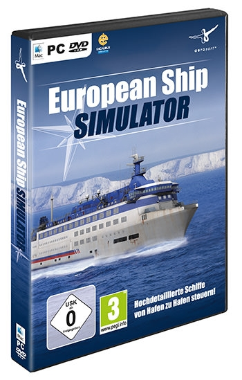 European Ship Simulator Cover
