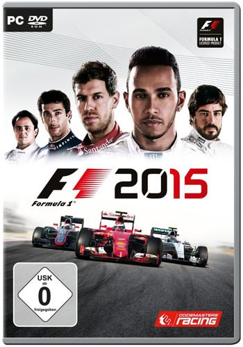 F1 2015 Cover