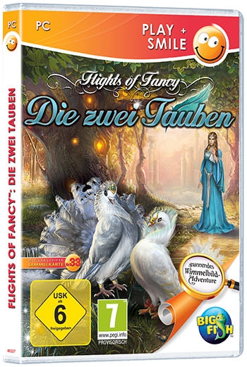 Flights of Fancy: Die zwei Tauben Cover
