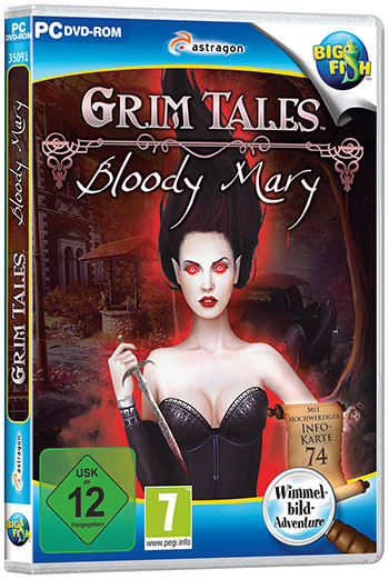 Grim Tales: Bloody Mary Cover