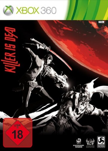 Killer is dead Cover