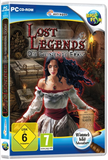 Lost Legends: Die weinende Frau Cover