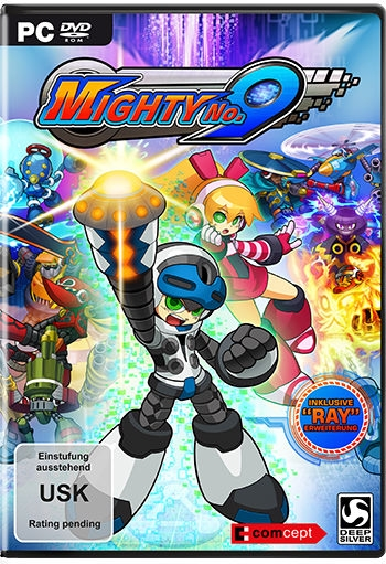Mighty No. 9 Cover