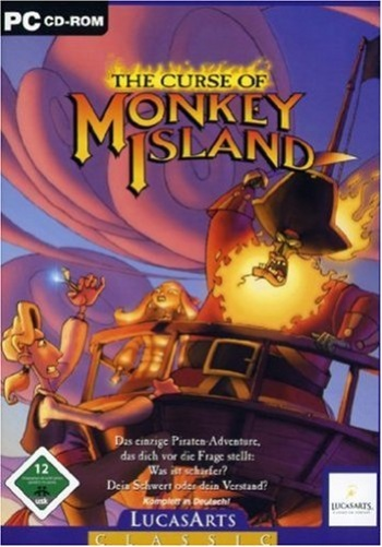 Monkey Island 3 - The Curse of Monkey Island Cover