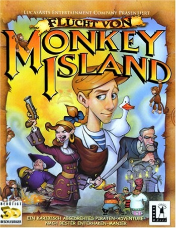 Monkey Island 4 - The Escape from Monkey Island Cover