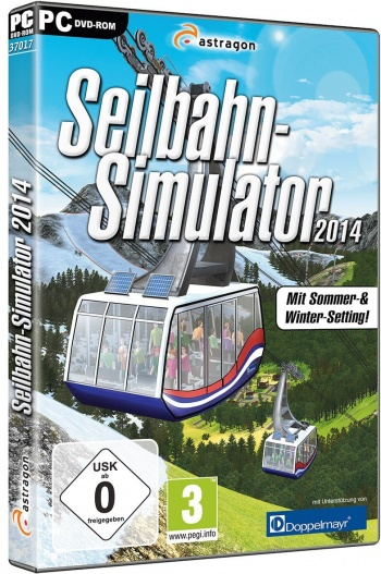 Seilbahn Simulator 2014 Cover