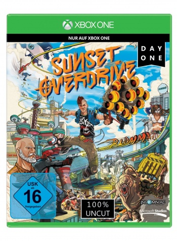 Sunset Overdrive Cover