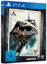 Batman: Return to Arkham Cover