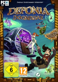 Deponia Doomsday Cover
