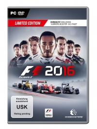 F1 2016 Cover