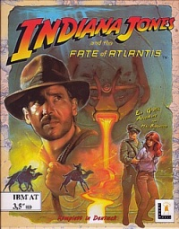 Indiana Jones 4 - Fate of Atlantis Cover