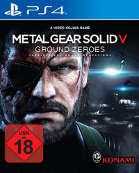 Metal Gear Solid 5: Ground Zeroes Cover