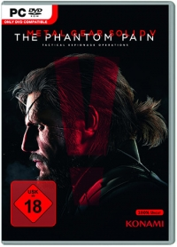 Metal Gear Solid 5: The Phantom Pain Cover