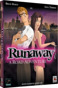Runaway - A Road Adventure Cover