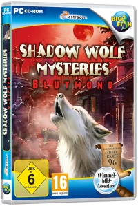 Shadow Wolf Mysteries: Blutmond Cover