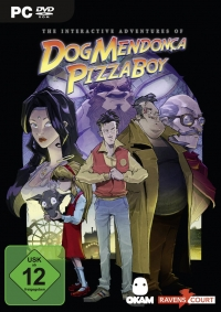 The Interactive Adventures of Dog Mendonca & Pizza Boy Cover