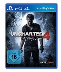 Uncharted 4: A Thiefs End Cover