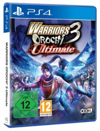 Warriors Orochi 3 Ultimate Cover