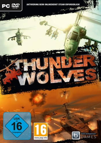Thunder Wolves Cover