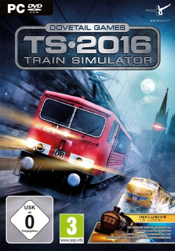 Train Simulator 2016 Cover