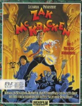 Zak McKracken and the Alien Mindbenders Cover