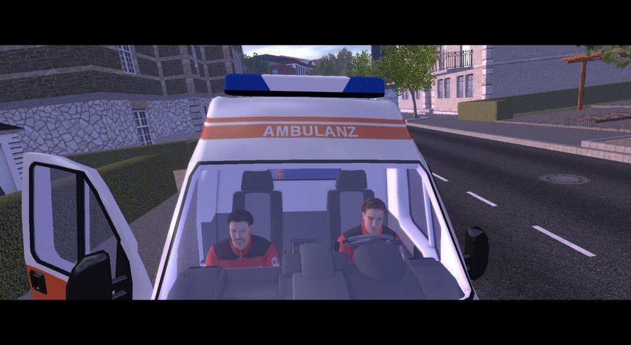 rettungswagen simulator demo